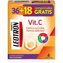 LEOTRON VITAMINA C COMPRIMIDOS EFERVESCENTES