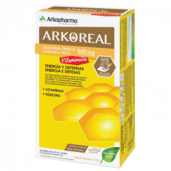 ARKOREAL JALEA REAL FRESCA 500MG VITAMINADA ENERGIA Y DEFENSAS 20 AMP