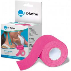 K-ACTIVE KINESIOLOGY TAPE 5CMx5M ROSA