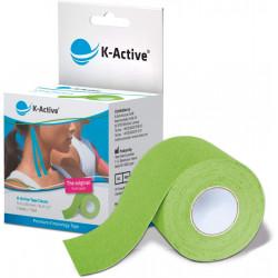 K-ACTIVE KINESIOLOGY TAPE 5CMx5M VERDE