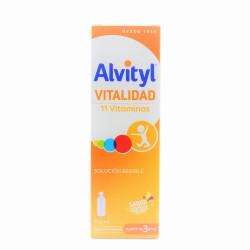 ALVITYL VITALIDAD 11 VITAMINAS JARABE 150ML