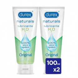 DUREX LUBRICANTE NATURALS DUPLO 2 X 100ML
