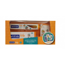 VITIS KIT KIDS CEPILLO + GEL DENTÍFRICO + REGALO JUEGO