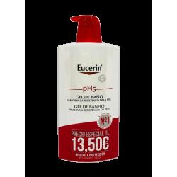 EUCERIN GEL DE BAÑO PIEL SENSIBLE PH5 1 L