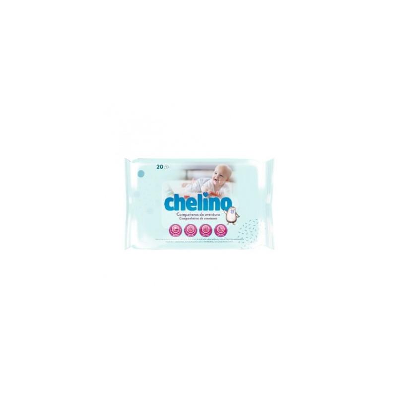 TOALLITAS CHELINO FASHION & LOVE 20 TOALLITAS
