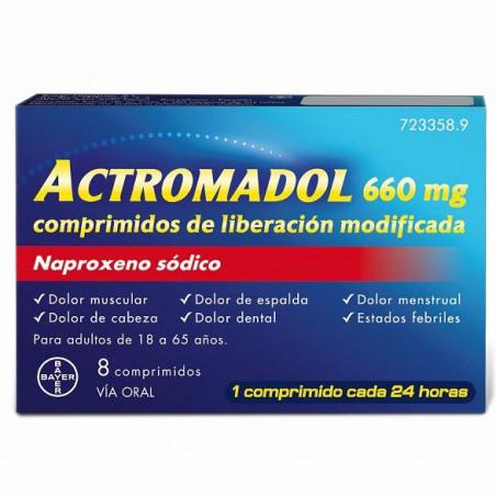 ACTROMADOL 660MG COMPRIMIDOS