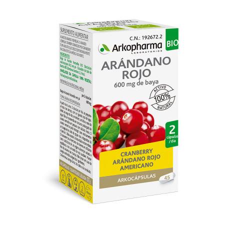 ARKOCAPSULAS CRANBERRY ARANDANO ROJO 45 CAPSULAS