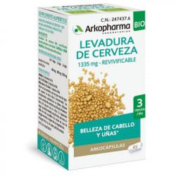 ARKOCAPSULAS LEVADURA DE CERVEZA 45 CAPSULAS