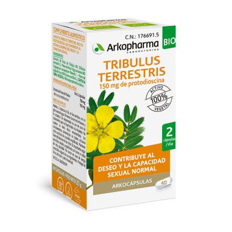 ARKOCAPSULAS TRIBULUS TERRESTRIS 42 CAPS