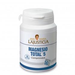 A.M. LAJUSTICIA MAGNESIO TOTAL 5 100 COMPRIMIDOS