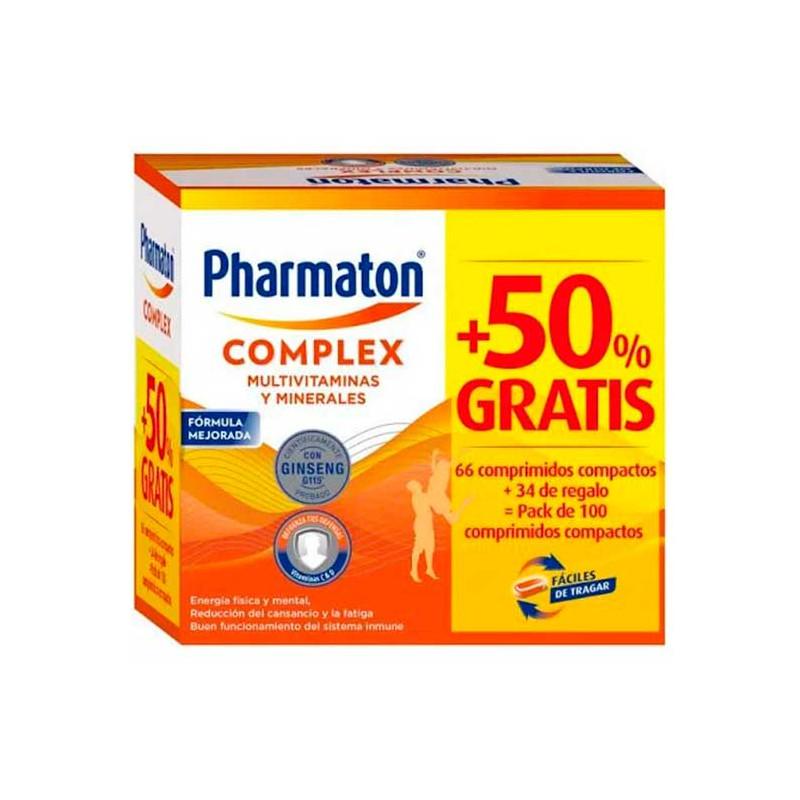 PHARMATON COMPLEX COMPRIMIDOS