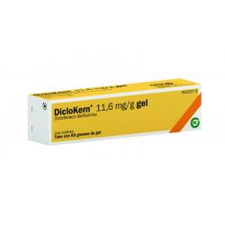 DICLOKERN 11,6 mg/g GEL