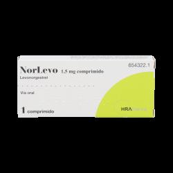 NORLEVO 1,5 MG COMPRIMIDO