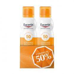 EUCERIN SOLAR DUPLO SRPAY TRANSPARENT SPF 50+ 2x200ML