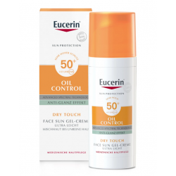 EUCERIN SUN GEL CREMA OIL CONTROL DRY TOUCH SPF50+ 50ML