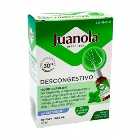 JUANOLA DESCONGESTIVO SPRAY NASAL 20ML