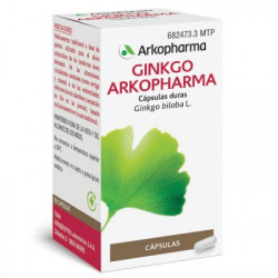 ARKOCAPSULAS GINKGO 180 mg CAPSULAS DURAS