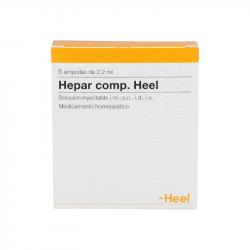 HEPAR COMPOSITUM HEEL 5 AMPOLLAS