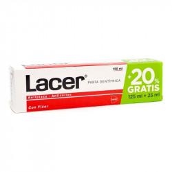 LACER PASTA ANTICARIES CON FLUOR 125 ML + 25ML GRATIS