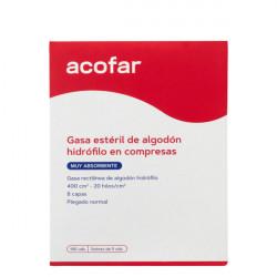ACOFAR GASA ESTERIL DE ALGODON HIDROFILO 100U