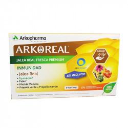 ARKOREAL JALEA REAL FRESCA PREMIUM INMUNIDAD 20 AMPOLLAS