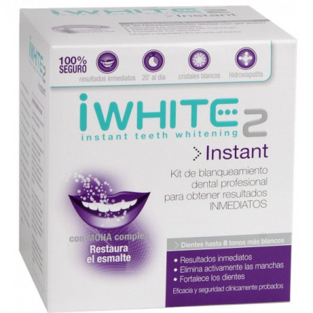 iWHITE 2 INSTANT KIT BLANQUEAMIENTO DENTAL INSTANTANEO
