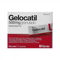 GELOCATIL 500 mg GRANULADO
