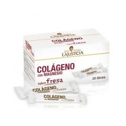 COLAGENO CON MAGNESIO SABOR FRESA 20 STICKS