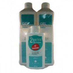 INIBSA GEL PACK 2 UNIDADES DE 1L + 1 GEL 200ML REGALO