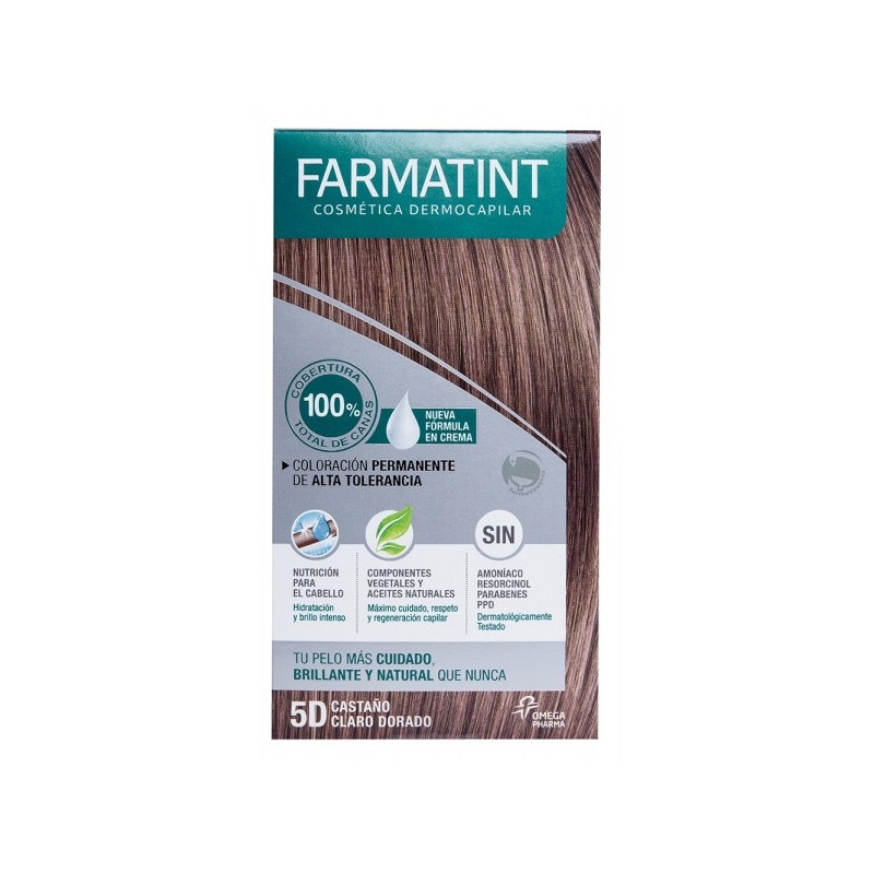 FARMARTINT 5D CASTAÑO CLARO DORADO