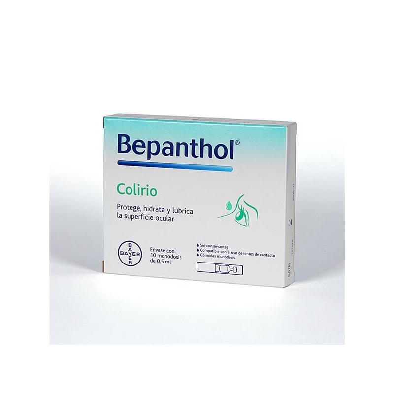 BEPANTHOL COLIRIO ESTERIL MONODOSIS