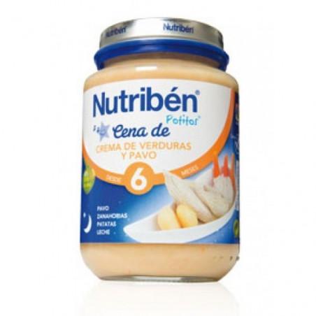 NUTRIBEN CENA CREMA VERDURAS PAVO