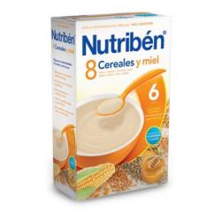 NUTRIBEN 8 CEREALES MIEL CALORIAS