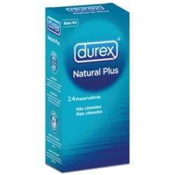 DUREX NATURAL PLUS 24U