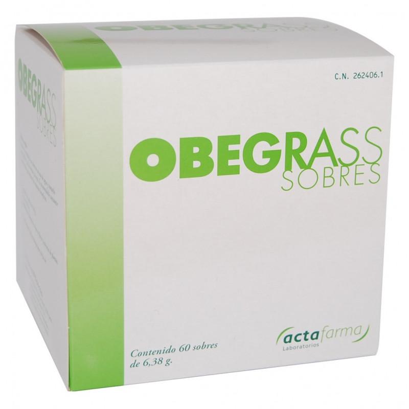 OBEGRASS 60 SOBRES + EXCESS CONTROL 500