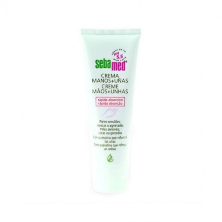 SEBAMED CREMA DE MANOS Y UÑAS 75 ML