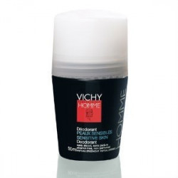 VICHY HOMME DESODORANTE PIEL SENSIBLE ROLL ON 50 ML