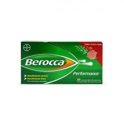 BEROCCA PERFORMANCE SABOR FRUTOS ROJOS 30 COMPRIMIDOS EFERVESCENTES
