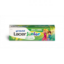 LACER GEL JUNIOR MENTA 75 ML