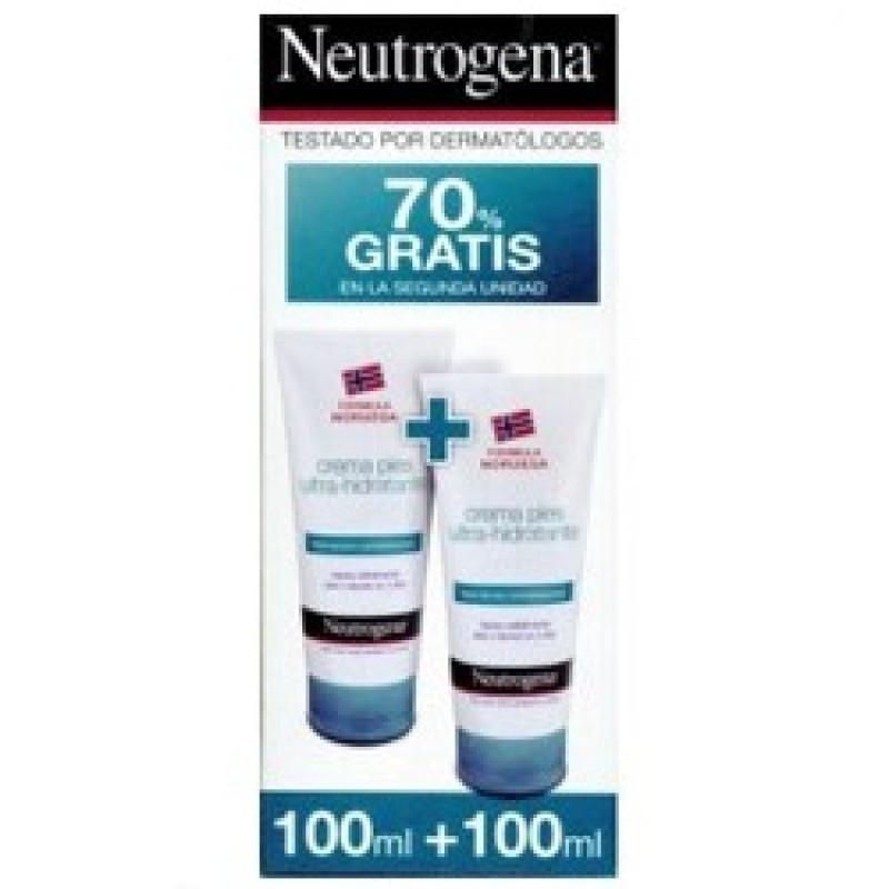 NEUTROGENA FORMULA NORUEGA PIES CREMA ULTRAHIDRATANTE 100 ML + 100 ML 100 ML + 100 ML