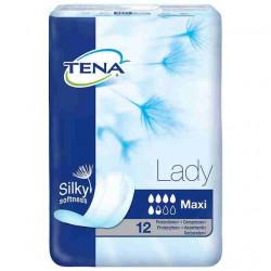 TENA LADY COMPRESA MAXI 12 UN