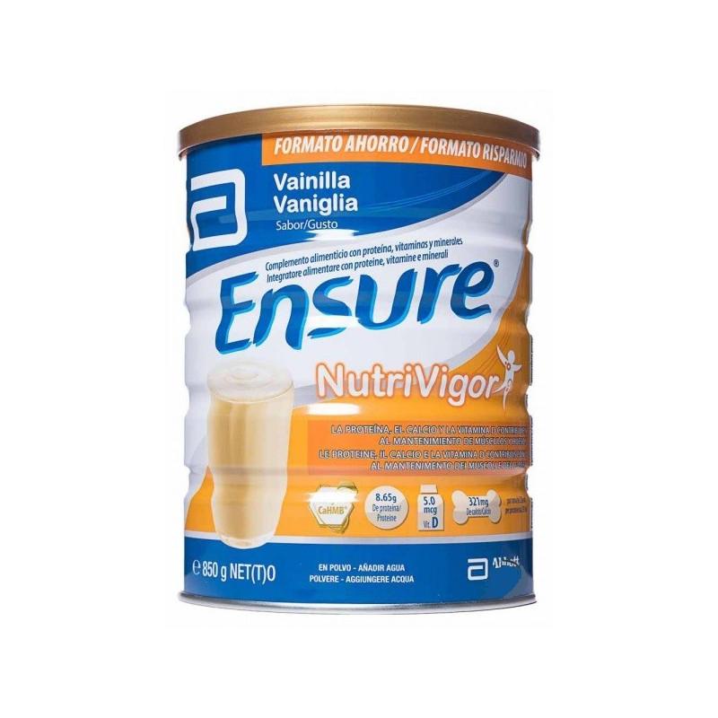 ENSURE NUTRIVIGOR VAINILLA 850 GR