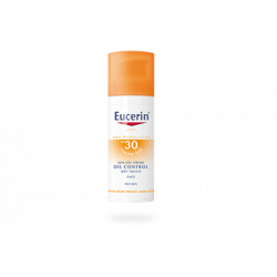 EUCERIN SUN PROTECTION FPS30 GEL-CREMA TOQUE SECO OIL CONTROL ROSTRO