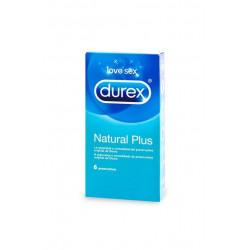DUREX NATURAL PLUS 6U