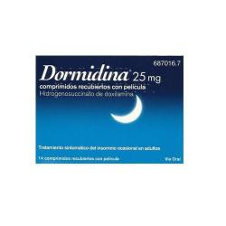 DORMIDINA DOXILAMINA 25 mg...