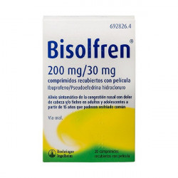BISOLFREN 200 MG /30 MG...