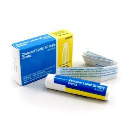 ZOVICREM LABIAL 50 mg/g CREMA