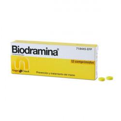 BIODRAMINA 50 mg COMPRIMIDOS
