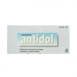 ANTIDOL  500 mg COMPRIMIDOS...