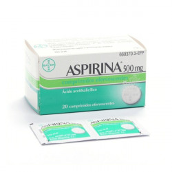 ASPIRINA 500 mg COMPRIMIDOS...
